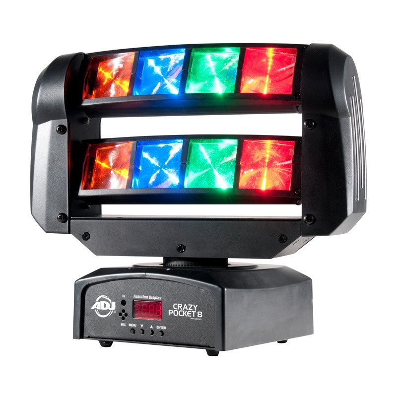 Image of   ADJ Crazy Pocket 8