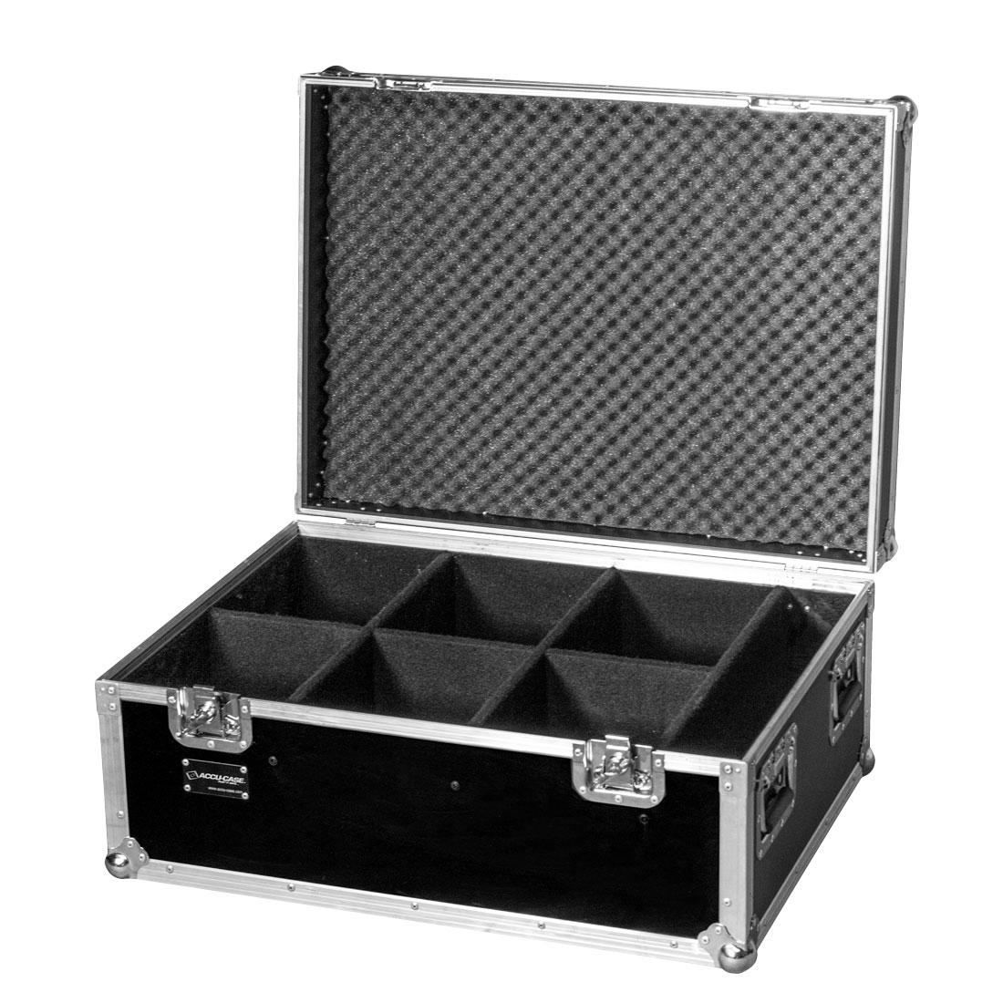 Image of   ADJ Flightcase til 6 x LED PAR lamper