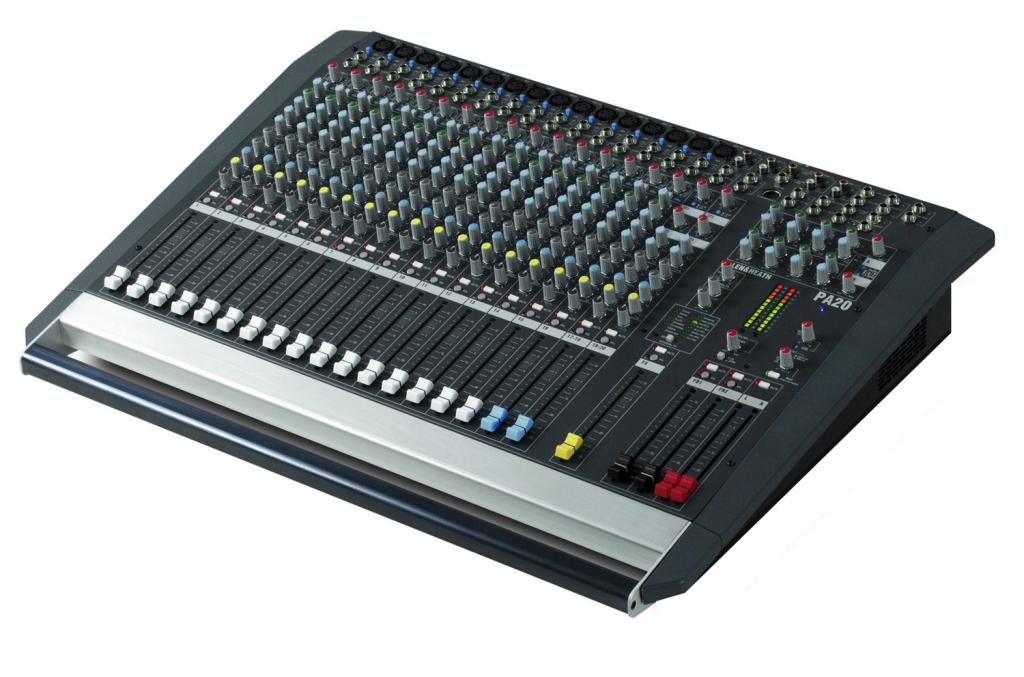 A&H PA202 Mixer 16 mono / stereo