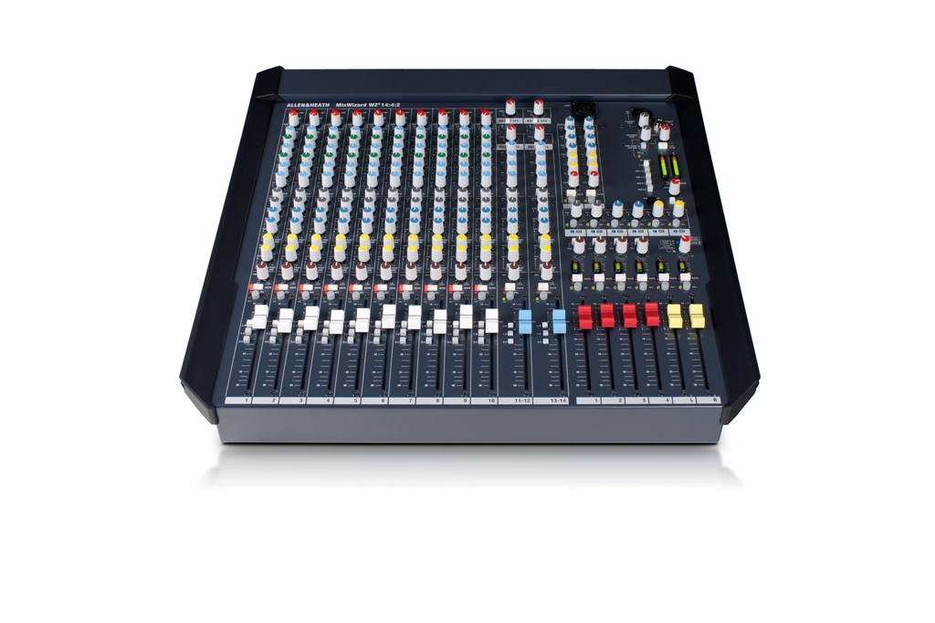 A&H Wizard 4 14:4:2 Mixer 10 Mic/line & 2 stereo
