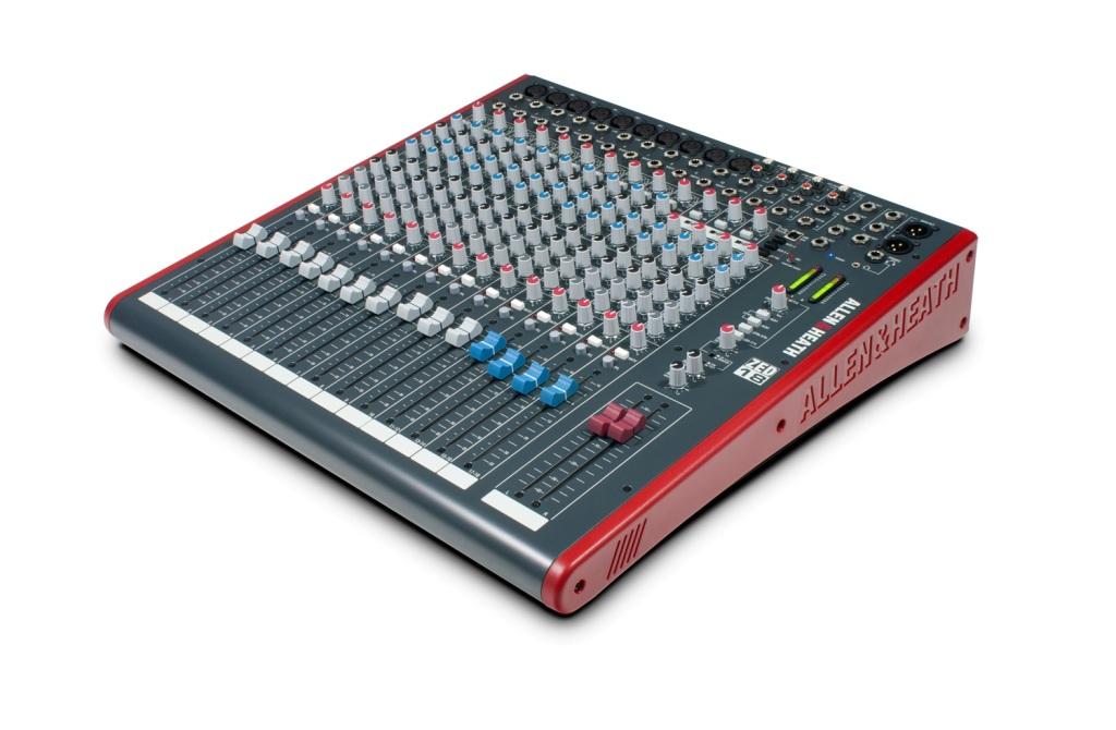 Image of   A&H ZED-18 Mixer 10 mono/4 stereo m/USB