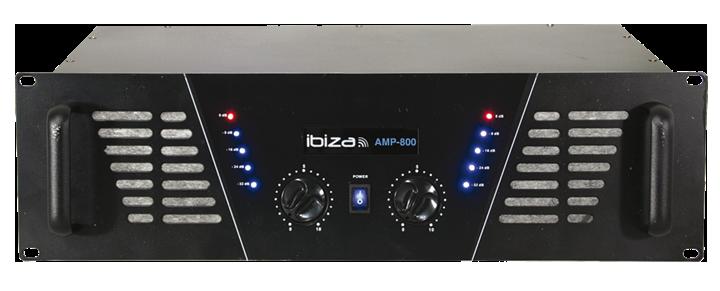 Ibiza AMP800 Forstærker 2x600w