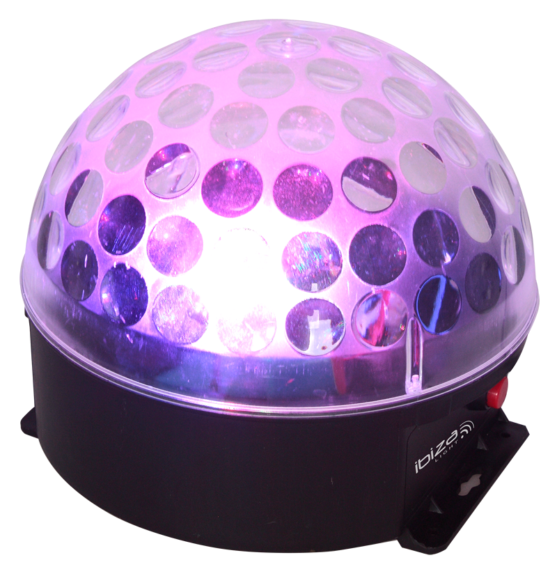 Image of   Ibiza Astro-Bat RGBA LED lyseffekt