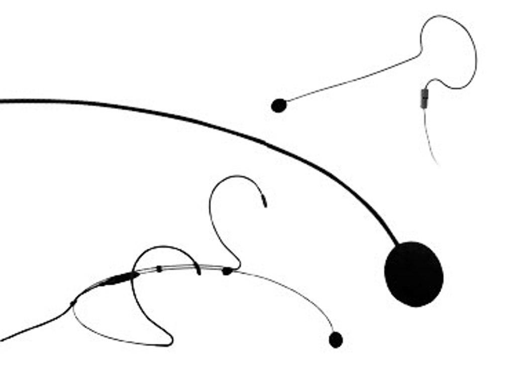 Audac vindhætte til CMX7-serie headsæt mikrofon, Sort