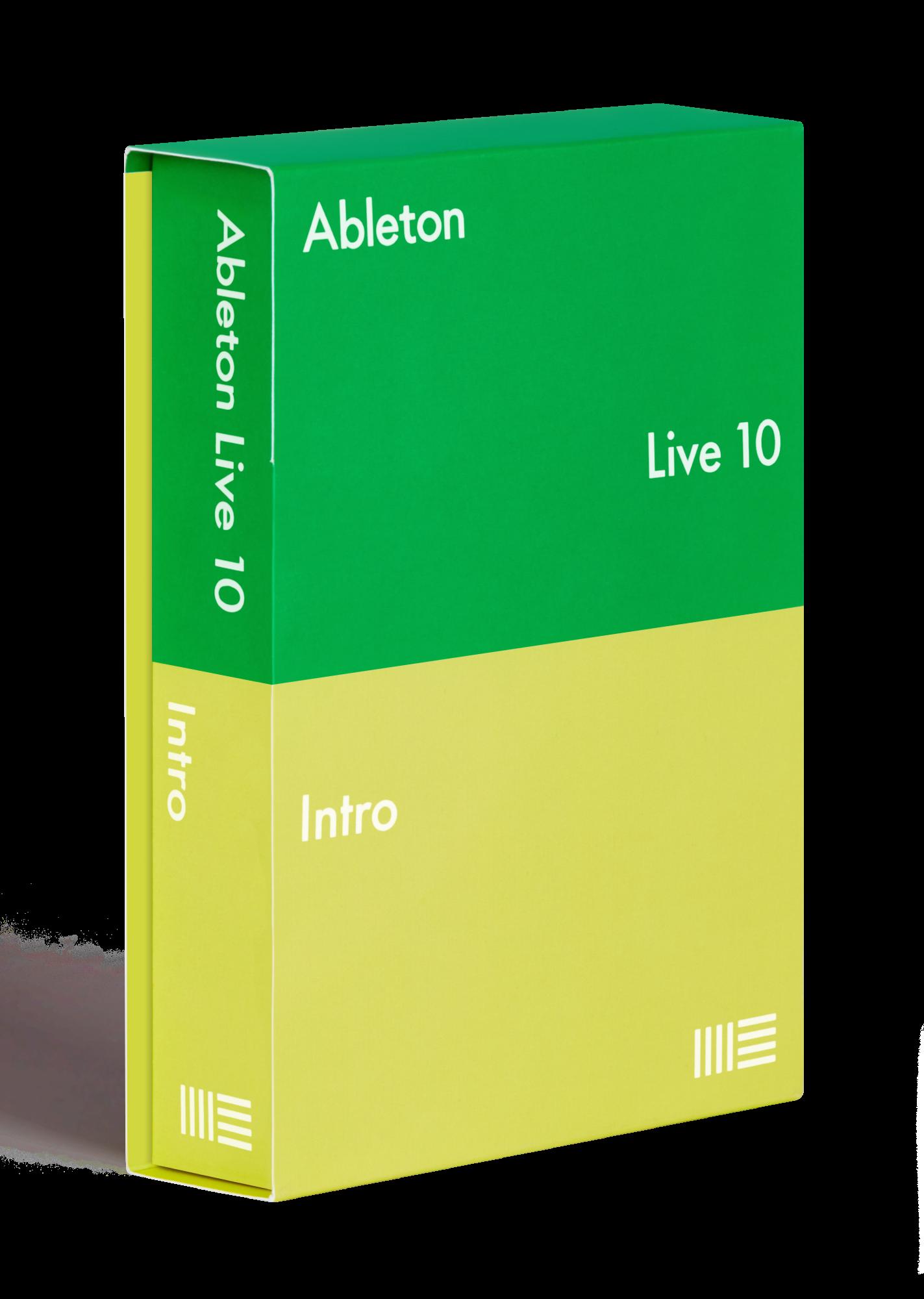 Billede af Ableton Live 10 Intro Software
