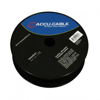 Image of   Accu-Cable 100 meter Højtaler kabel 2x0,75mm²/flat Transparent