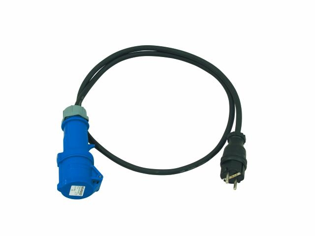 Image of   CEE Schuko CEEK Adapter kabel 3x2,5mm 5 meter