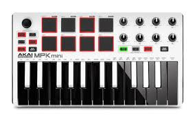Image of   Akai MPK Mini Mk2 Ltd. Ed. White