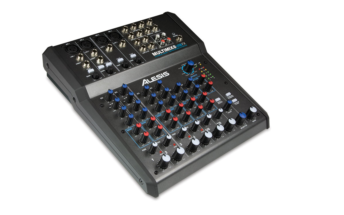 Image of   Alesis Multimix 8 USB FX