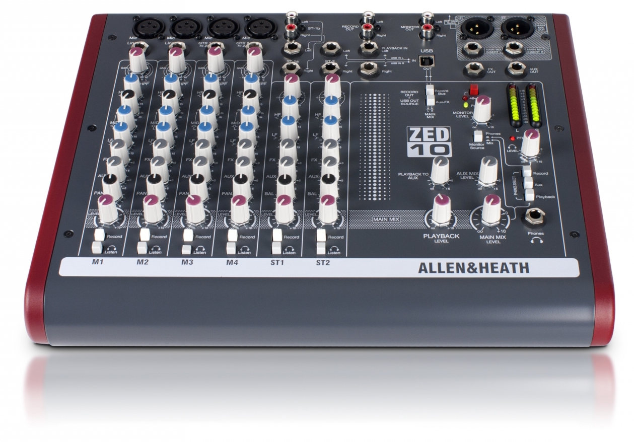 Image of   Allen & Heath ZED-10
