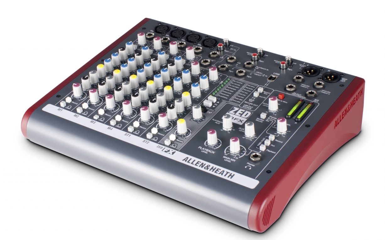 Image of   Allen & Heath ZED-10FX