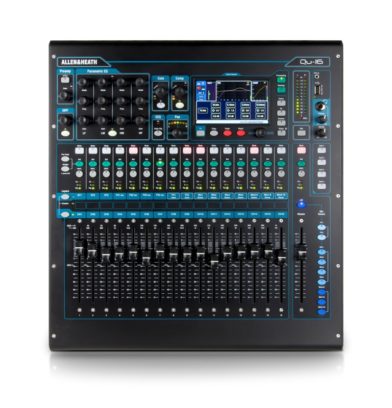 Image of   Allen & Heath QU-16