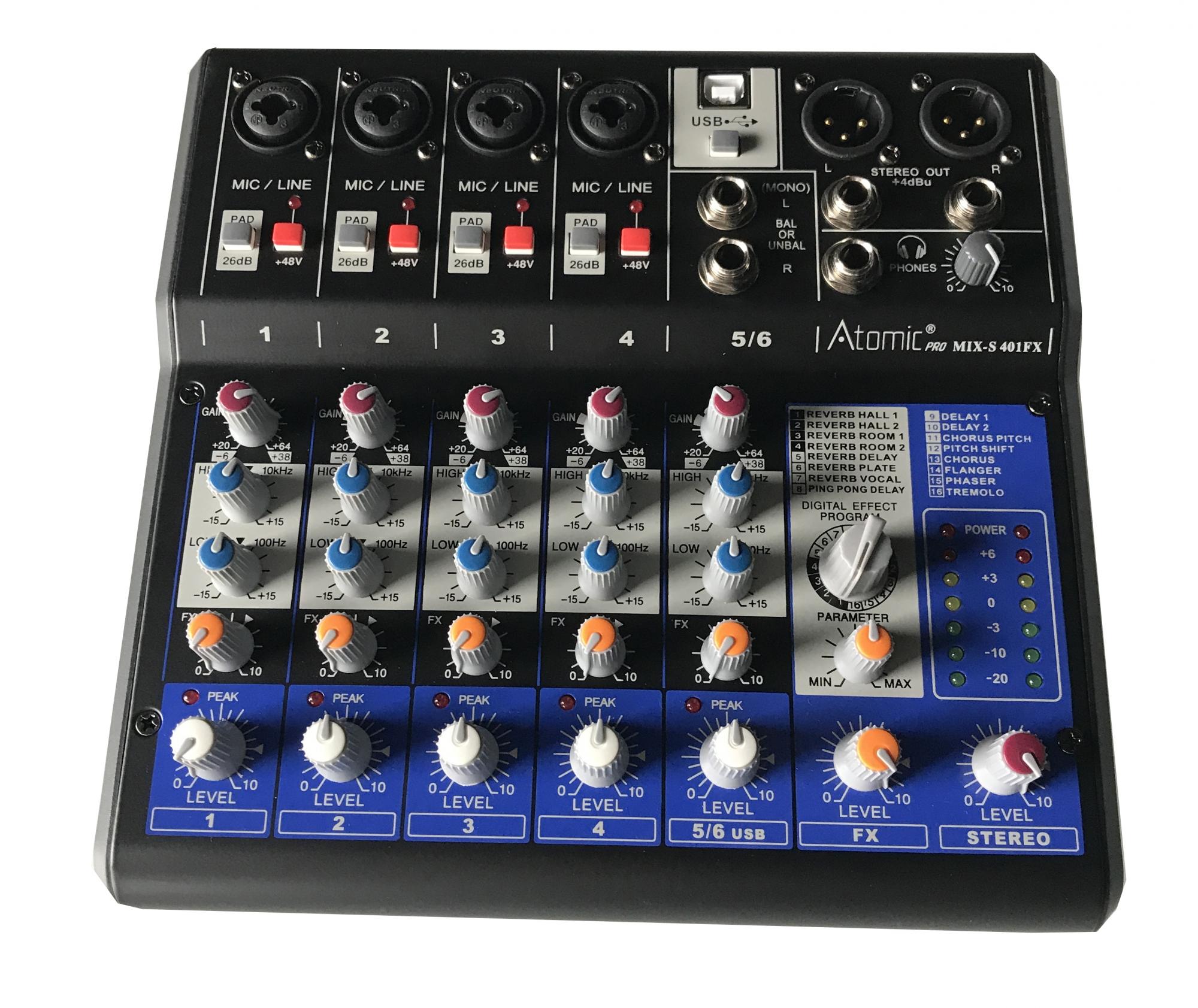 Image of   Atomic Mixer 401 (6 kanaler)
