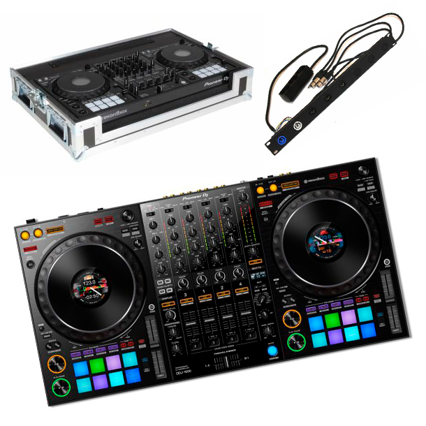 Pioneer DDJ-1000 Case Bundle