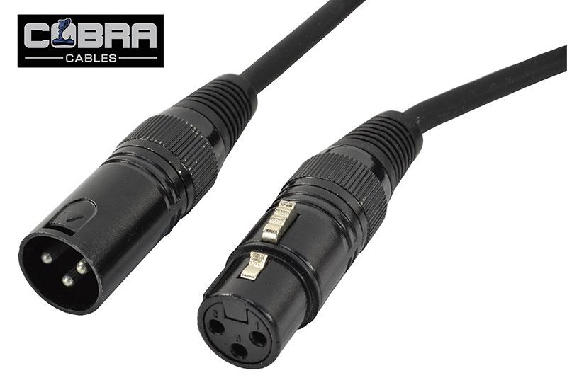 Billede af DMX Kabel 3 pins 10 meter