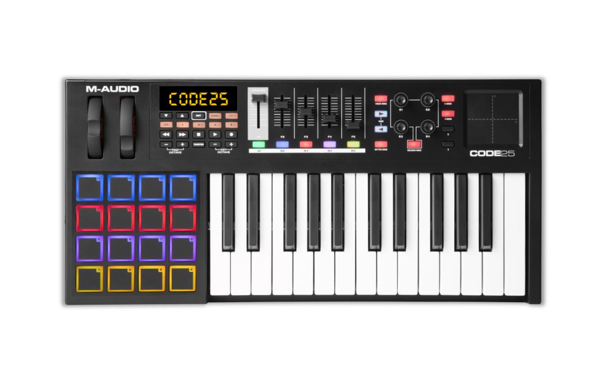 Image of   M-Audio CODE 25 Black