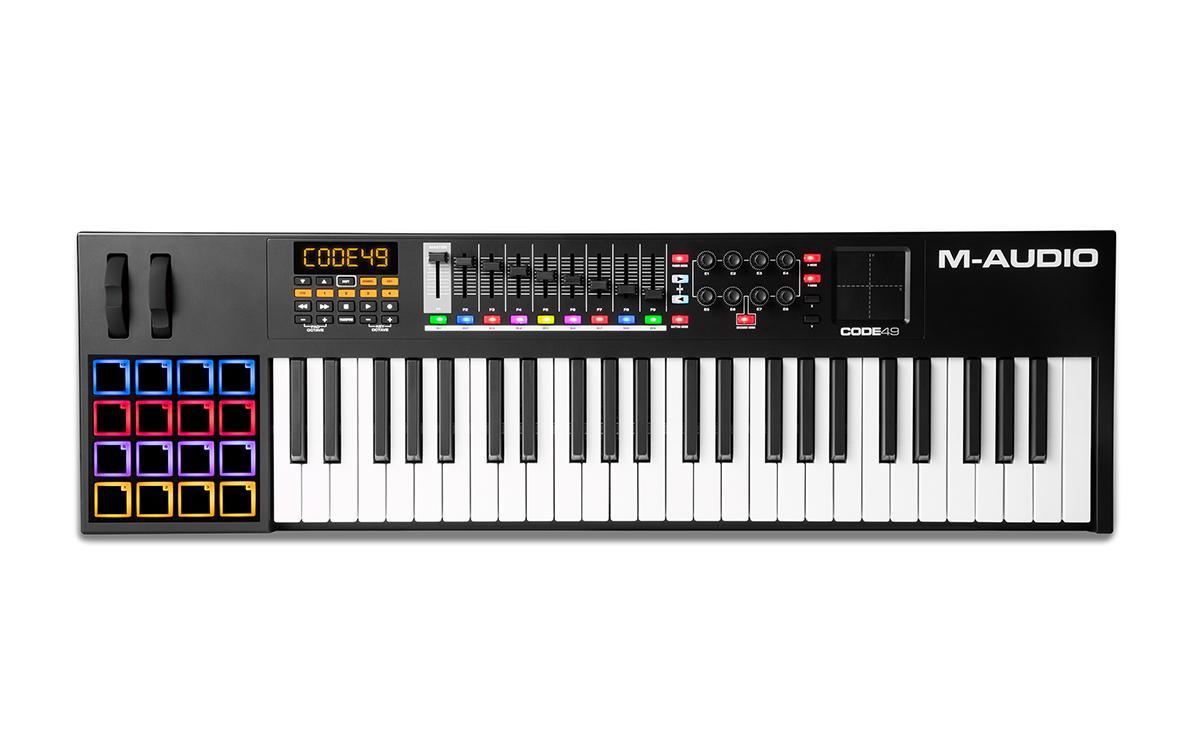 Image of   M-Audio CODE 49 Black