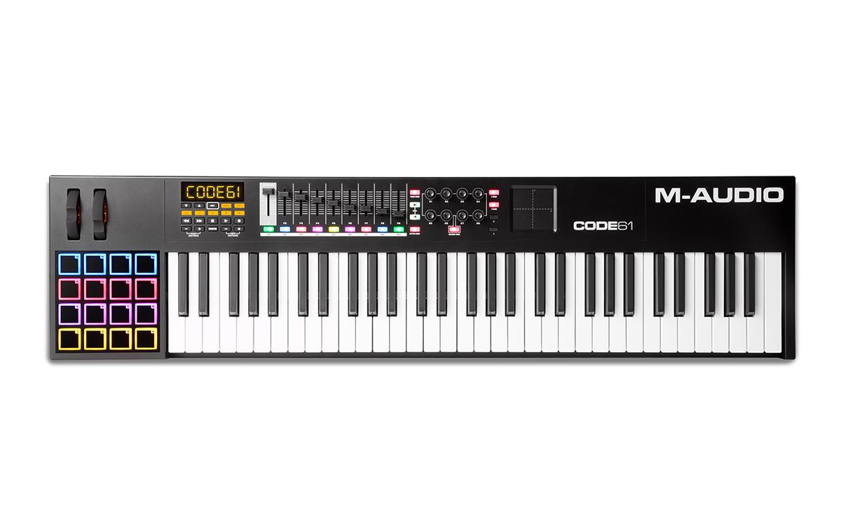 Image of   M-Audio CODE 61 Black