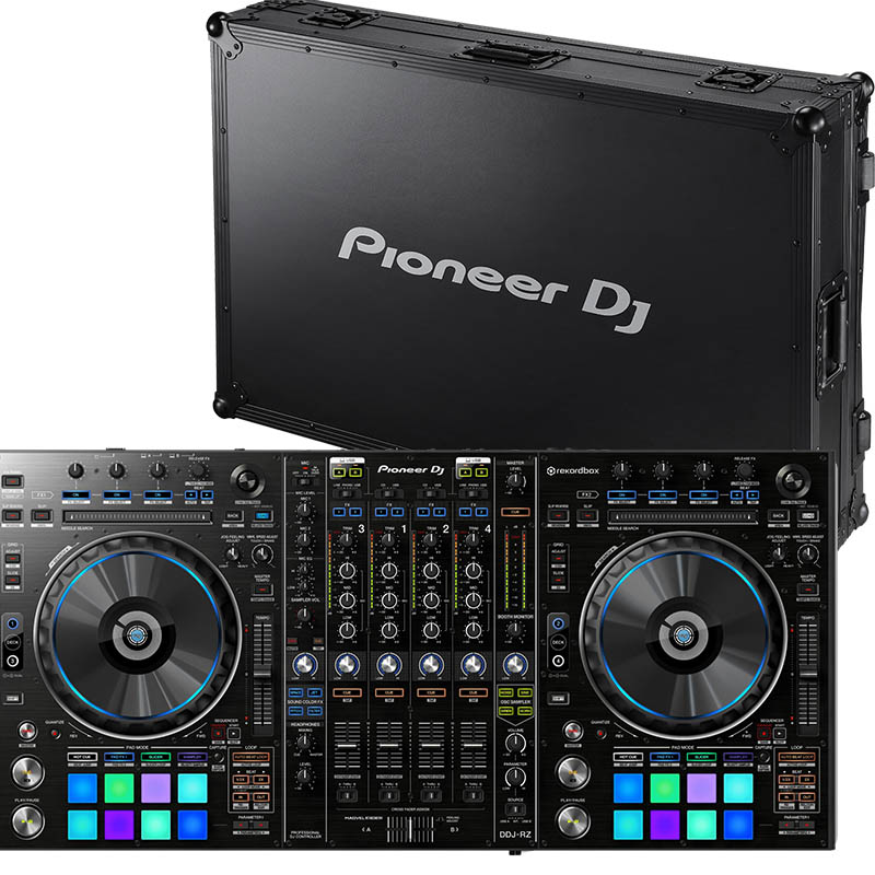 Pioneer DDJ-RZ/Flightcase bundle