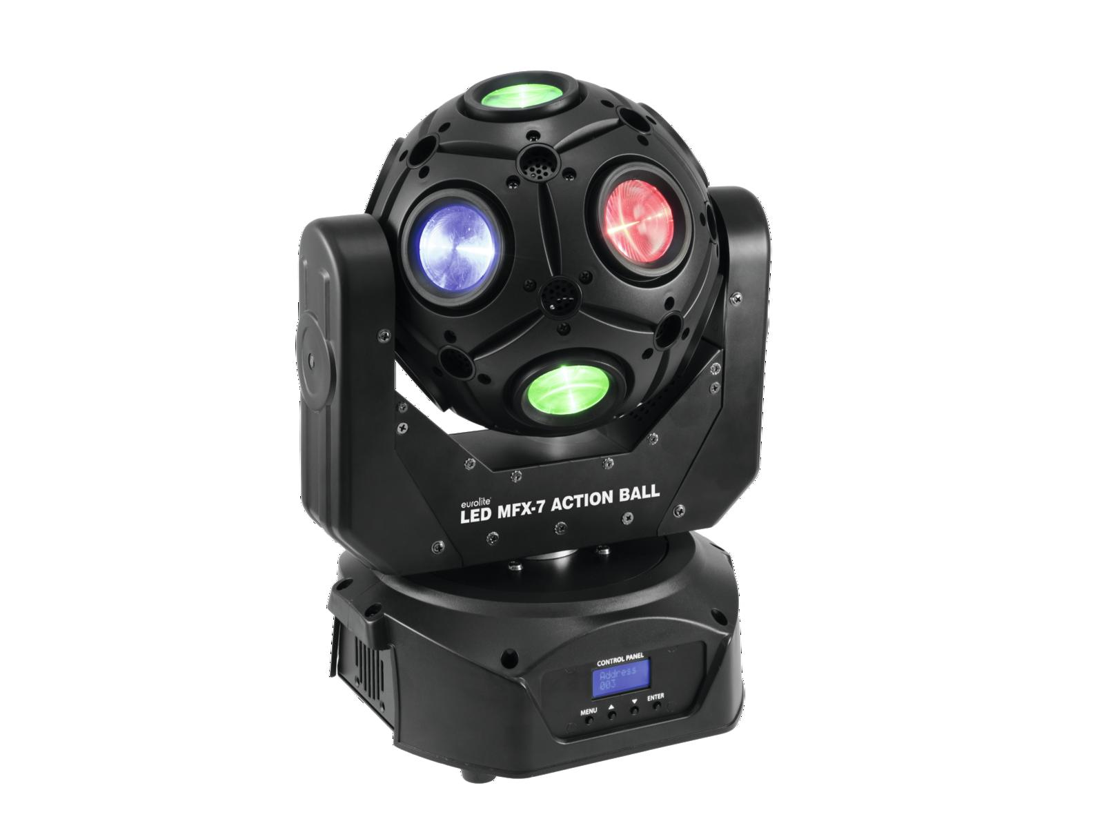 Image of   Eurolite LED MFX-7 Action ball