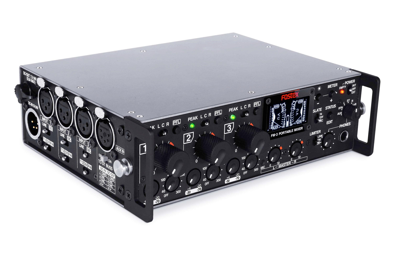 Fostex FM-3 transportabel mixer 3 kanaler