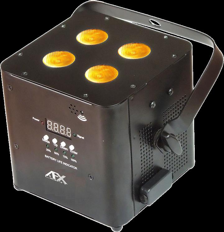 Image of   AFX FreePar Hex Trådløs batteri lampe Hvid