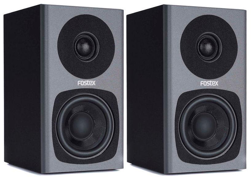 Image of   Fostex PM0.3 Aktivt Højttalersæt, grå