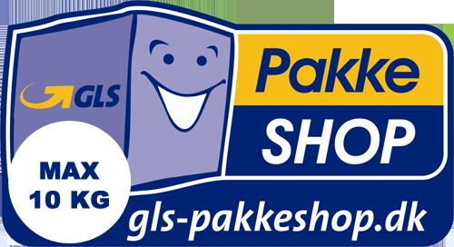 GLS Pakkeshop Returlabel (max 10 kg)