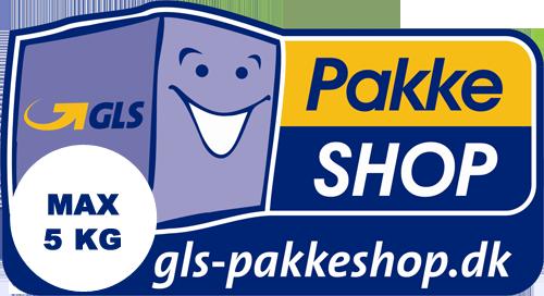 GLS Pakkeshop Returlabel (max 5 kg)