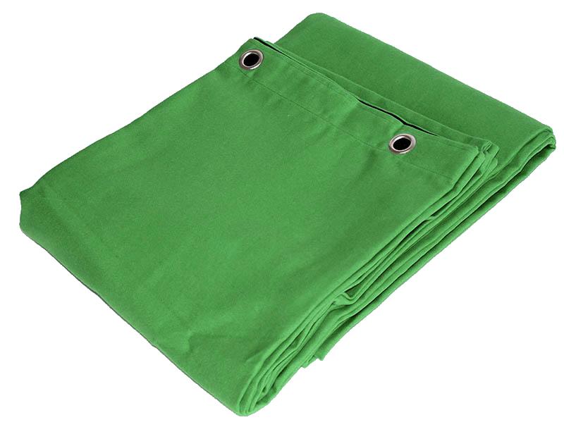 Image of   Green Screen Greenscreen 10x4 mtr.