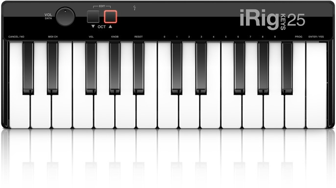 Image of   IK Multimedia iRig Keys 25 (for Mac/PC)