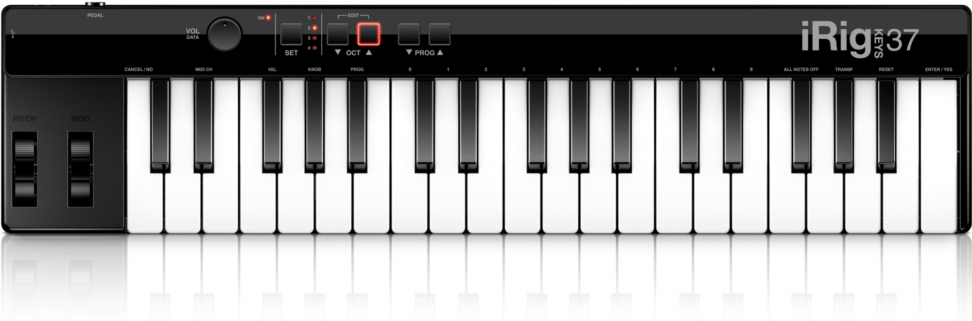 Image of   IK Multimedia iRig Keys 37 (for Mac/PC)