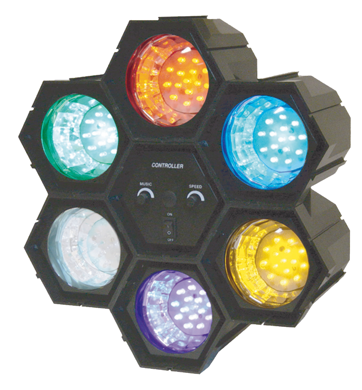 Image of   Ibiza 6-POD LED partyeffekt