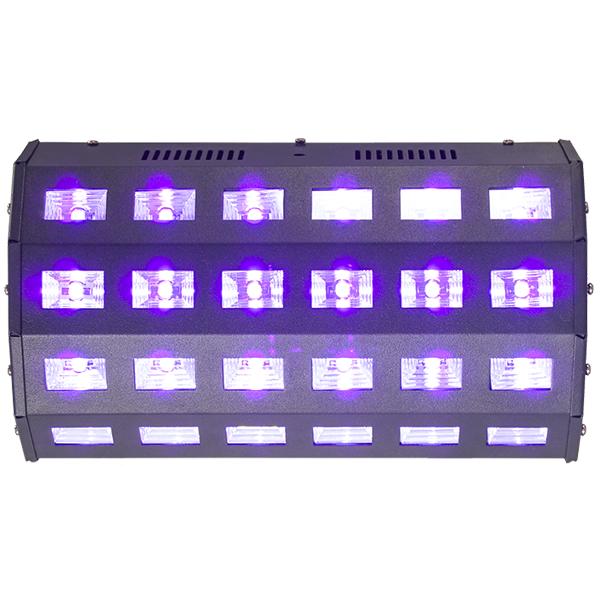 Ibiza UV LED 24 x 3 Watt