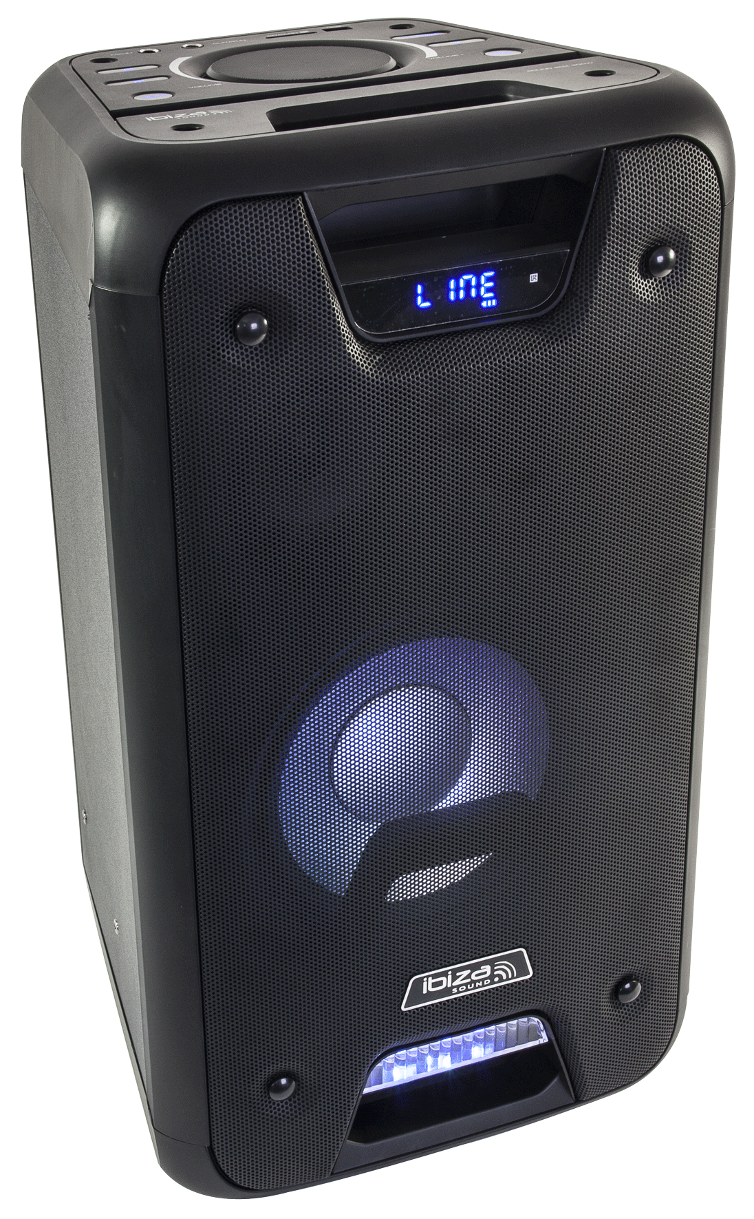 Image of   Ibiza stand-alone transportabel lydsystem, 300W