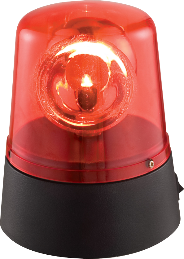 Image of   Ibiza LED Beacon light Rød