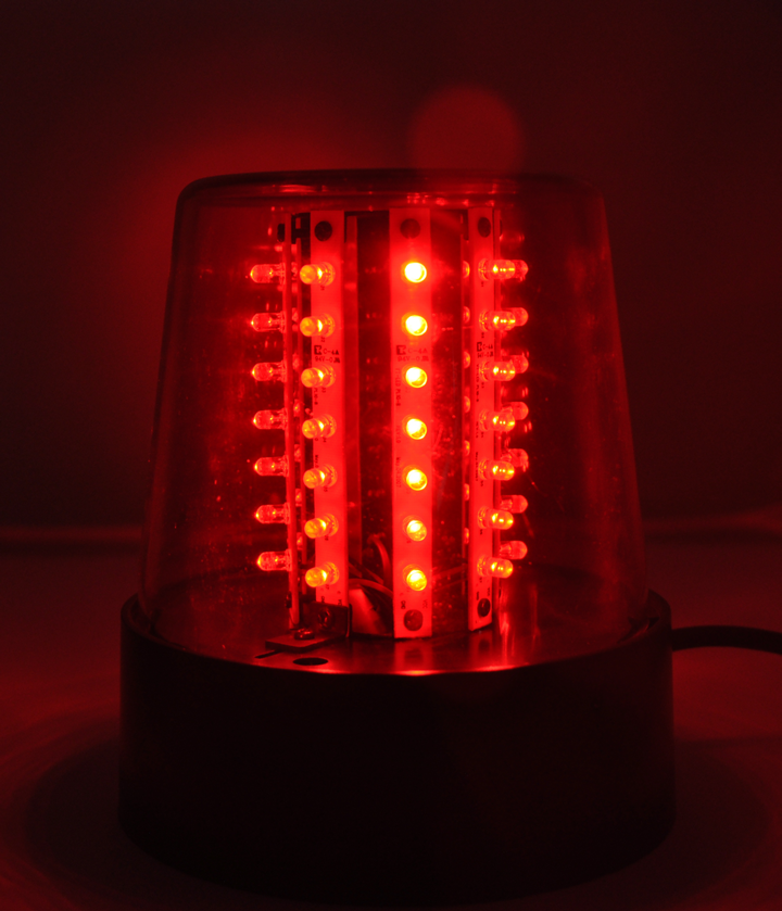 Image of   Ibiza XL LED Beacon light Rød