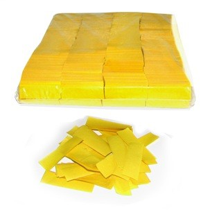 Image of   Papir konfetti Gul
