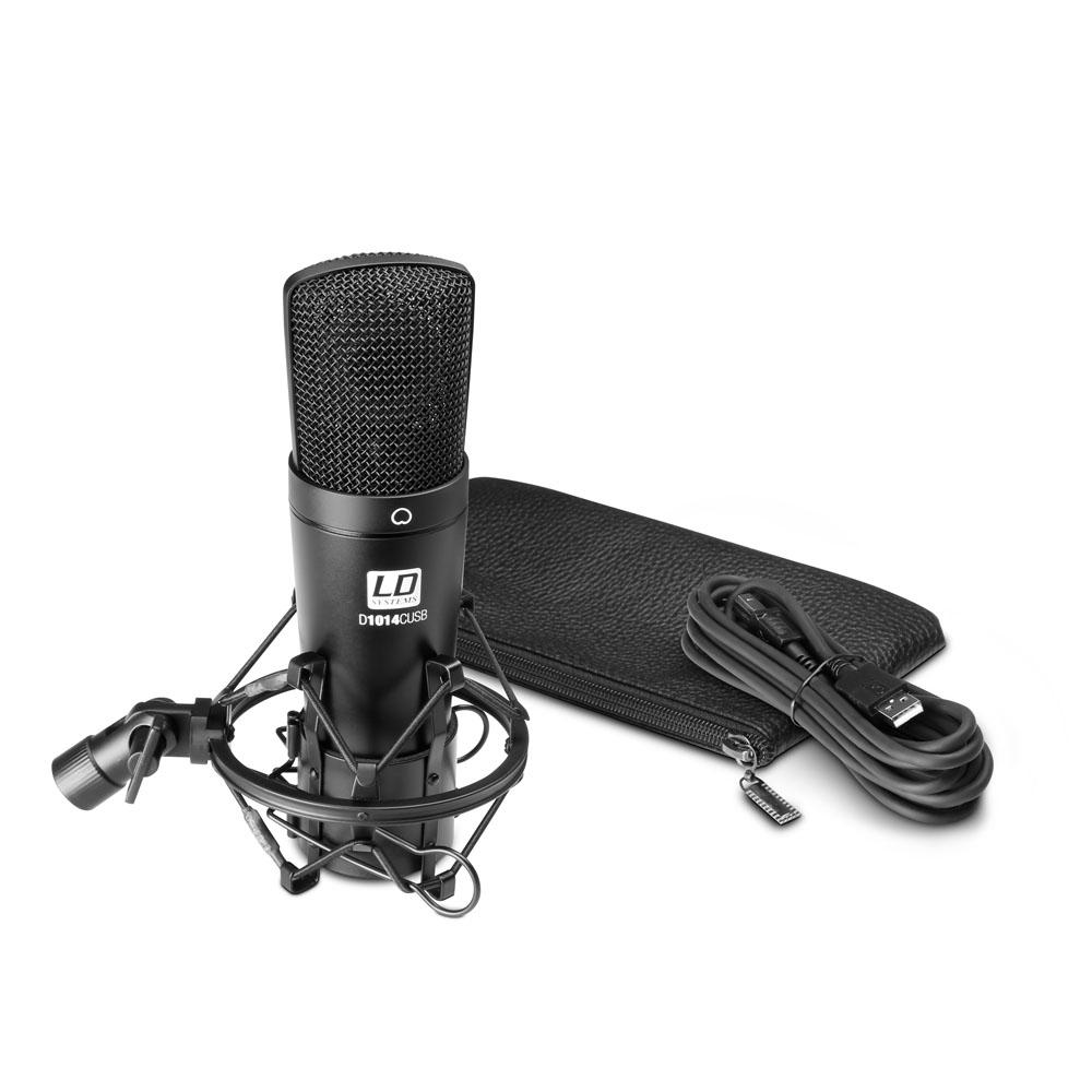 Billede af LD Systems D 1014 C USB Kondensator Studie Mikrofon