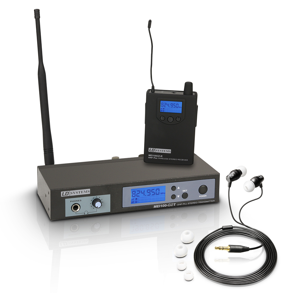 LD Systems MEI 100 G2 Trådløs In-Ear Monitor System