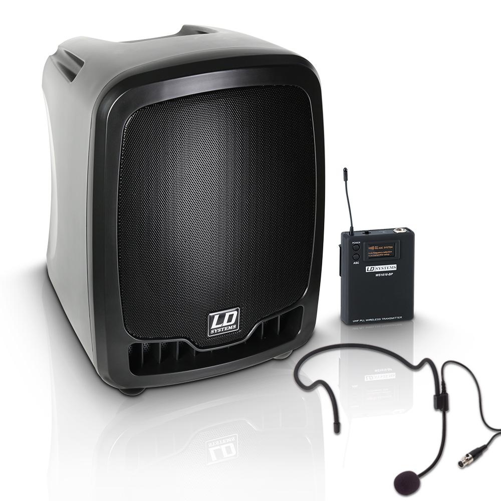 Image of   LD Systems Roadboy 65 Headset Transportabel Aktiv Højttaler