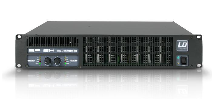 LD Systems SP 2K4 Forstærker 2x460W 8 Ohm