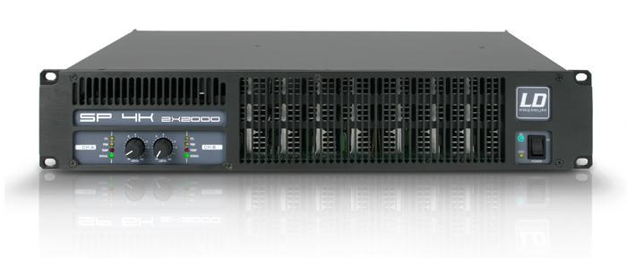 LD Systems SP 4K Forstærker 2x810W 8 Ohm