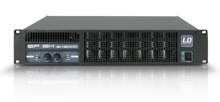 LD Systems SP 6K Forstærker 2x1250W 8 Ohm