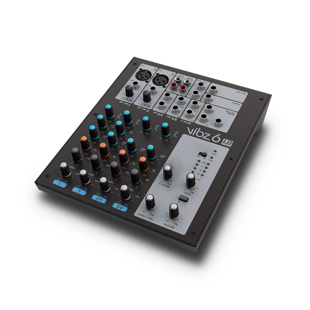 Image of   LD Systems VIBZ 6 - 6 kanal Mixer