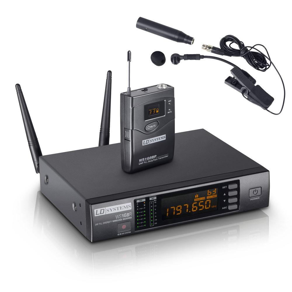 LD Systems WS 1G8 BPW Trådløs mikrofon til blæser instrument