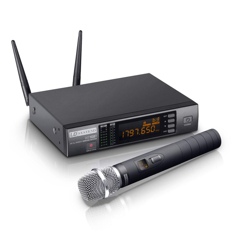 LD Systems WS 1G8 HHC Trådløs kondensator mikrofon
