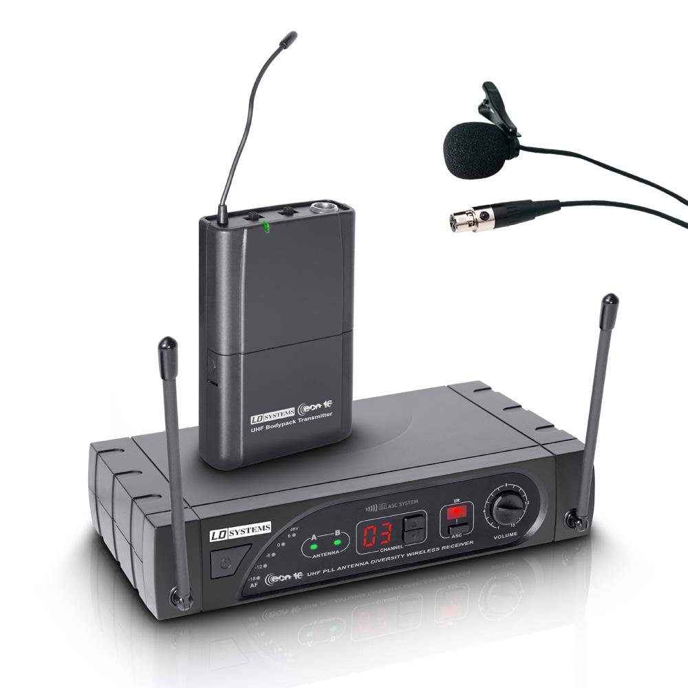 LD Systems ECO 16 Trådløs knaphul mikrofon