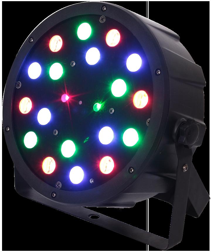 Ibiza 2 i 1 LED + Laser Lyseffekt