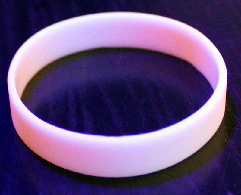 Image of   Selvlysende neon armbånd Lyserød